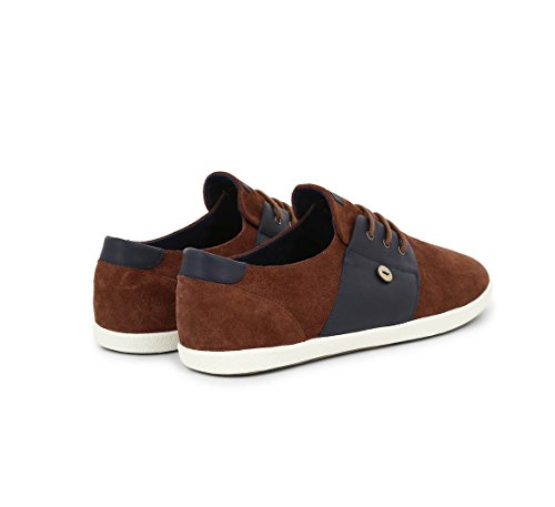 FAGUO - Baskets homme Cypress Suede Cuir terracotta-navy-cypress-23