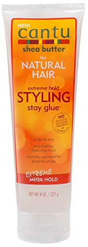 Cantu Natural Hair Styling Gel Stay Extreme Hold 8oz Tube by Cantu - Extreme Hold Gel