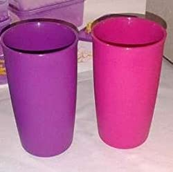 TUPPERWARE OUTDOOR TUMBLERS SET OF TWO