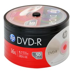 HP- Spool Hp DVD-R - 50 pack 4.7gb 16x