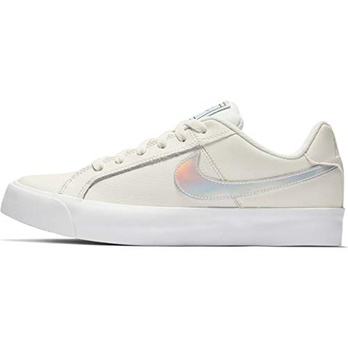 Nike Wmns Court Royale AC, Scarpe da Tennis Donna, Bianco (Sail/White-Black-Gum Light Brown 104), 37.5 EU
