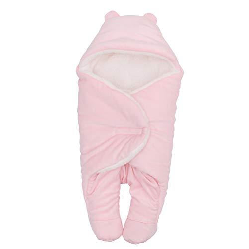 YeahiBaby - Saco Dormir bebé Terciopelo Grueso Forma