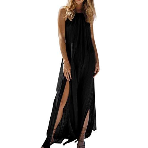 Proumy Vestidos&Faldas Damen Kleid, Comprar más Con descuento en Proumy, Schwarz, Comprar más Con descuento en Proumy X-Large (Descuento De Vestidos)