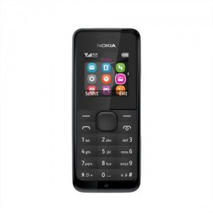 Price comparison product image Nokia 105 SIM-Free Mobile Phone - Black