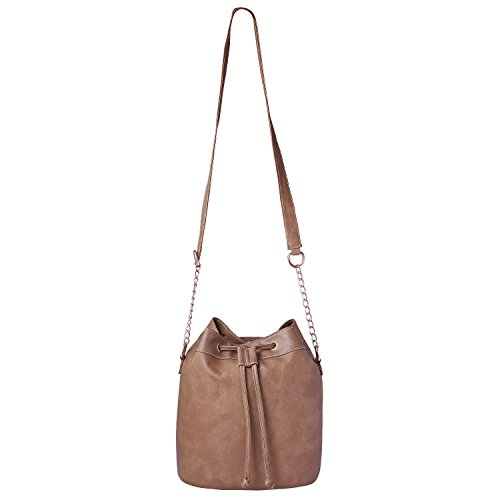 Speed X Fashion Women's Sling Bag Beige AMZN214 (Zanzeer)