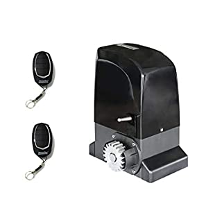 Kit Motor Sliding Intensive Use MOTORLINE Slide 800kg, to automate Sliding Doors and Gates of use Residential, Parking, Garage, Garage, High Quality with 2remotes High Security