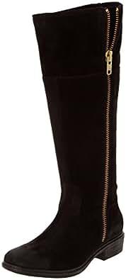 Esprit Jona Boot, Bottes cavalières femme - Noir (Black 001), 37 EU