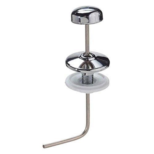 Wolfpack 4100110 Heberglocke für Spülkasten, niedrig, vertikal, angewinkelt, Chrom, 120mm