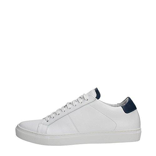 Andrea Morelli MMFW00754-LE300001 Sneakers Uomo Pelle WHITE WHITE 44