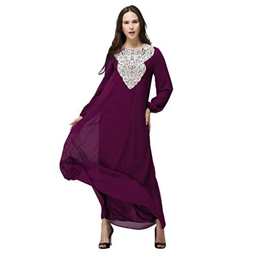 Lazzboy Kleid Arabisch Beiläufig Kleid Edel Muslime Lange Roben Abaya Maxi Rock Kleider - Mittlerer Osten Truthahn Abend Abschlussball ()