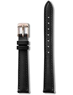 Cluse Damen Uhrenarmband La Vedette Leder Schwarz CLS505