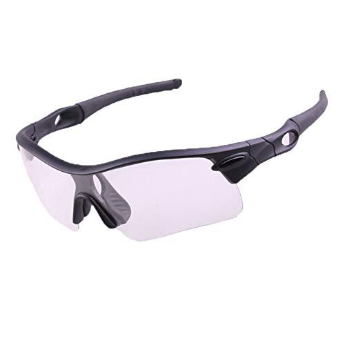 Polarisierte Sport-Sonnenbrille Radfahren Brillen Sonnenbrillen Windschutzscheiben Outdoor Sports Mountainbike Brillen Sport Sonnenbrillen Schutz Radfahren Verfärbung und Nachtsicht und bunte und pola