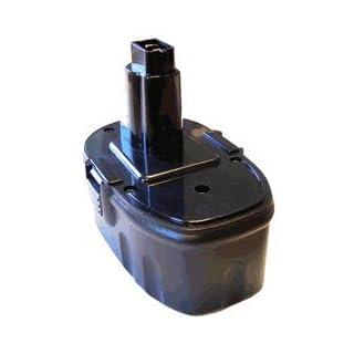 AboutBatteries 186655 Nickel Metal Hydride 3000mAh 18V rechargeable battery - rechargeable batteries (Nickel Metal Hydride, Power tool, Black, DC988)