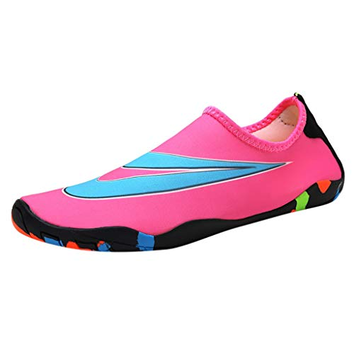 TWIFER Damen Sneakers Wasserschuhe Mesh Sportschuhe Lässig Paar Wasserschuhe Running Schuhe Freizeitschuhe