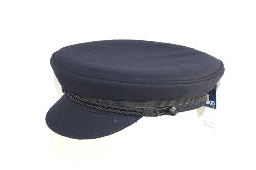 Elbsegler blau Schiffermütze maritim Kapitänsmütze 33430070, Marine, 58