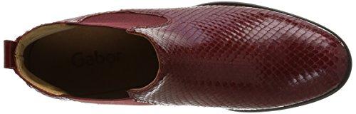 Gabor 31-640-75, Bottines  femme Rouge (Dark Red)