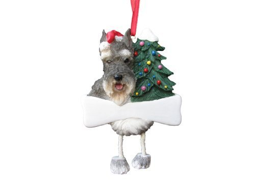 Schnauzer Ornament with Unique
