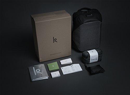 Korin Design ClickPack Pro Rucksack TSA Schloss Drahtschloss Schutz Diebstahlsicherung Daypack