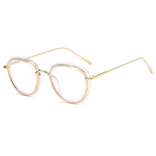 YMTP Frauen Vintage Optische Gläser Rahmen Männer Luxus Computer Brille Schwarz Grau Rosa Brillen Rahmen