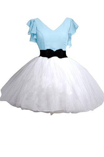 Missdressy - Robe - Robe de bal - Femme - Hell Himmelblau