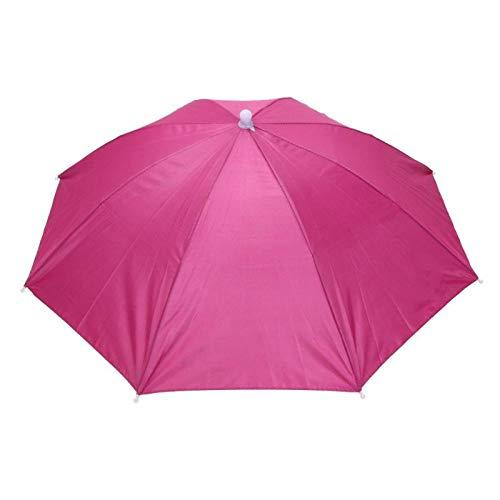 ZGMMM Regenschirm Outdoor Sport Regen Ausrüstung Faltbarer Regenschirm Hut Kappe Kopfbedeckung Für Angeln Wandern Strand Camping2 -