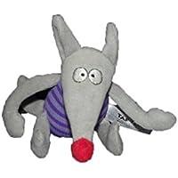 X- otros – Doudou TAF TOYS ratón zorro gris y púrpura ...