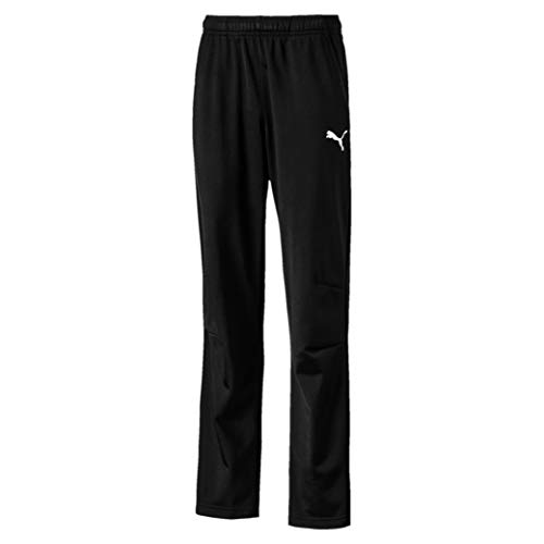 PUMA Kinder LIGA Training Pants Core Jr Hose, Black White, 152