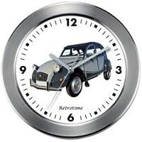 Péndulo reloj de pared 2 CV Charleston Gris Citroen