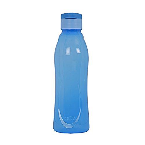 Cello Fresca Flip Polypropylene Bottle, 1 Litre, Blue