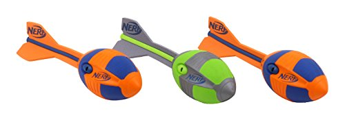 Balón Aero Howler - Nerf VORTEX - el juego popular para todas las edades - 2 x naranja y 1 x verde