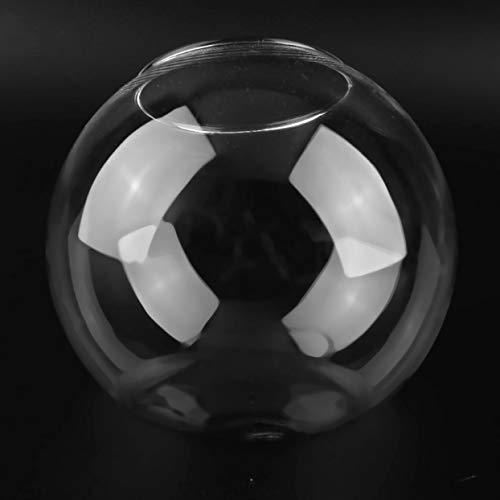 LoveOlvido Transparente Glaskugel Vase Multi Use Flower Hydroponic Vase Micro Landschaft DIY Flasche Kerzenhalter Home DIY Decor - Transparent