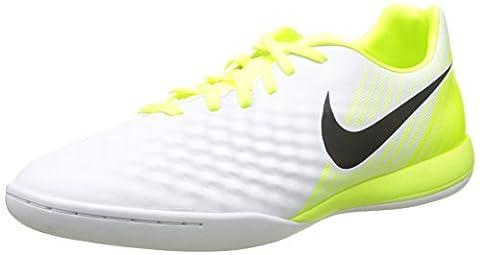 Nike Herren Magistax Onda Ii Ic Fußballschuhe, Weiß (White/Black-Volt-Pure Platinum), 44.5 EU