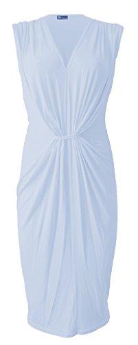 FASHIONCHIC Damen Kleid Weiß