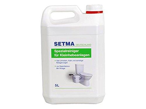 Setma Entkalker für Hebeanlagen - Reinigungsmittel-system