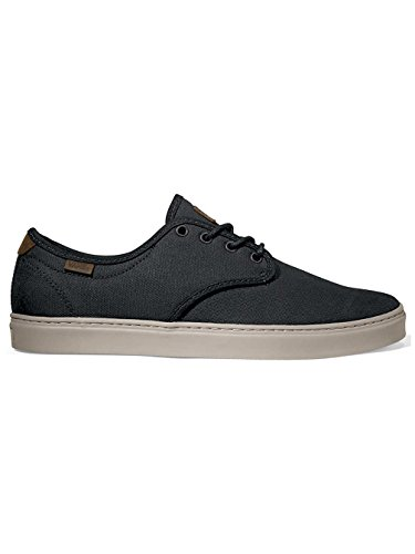 Vans Ludlow Premium Wax Canvas Black Skate Shoe 6.5 D(M) US