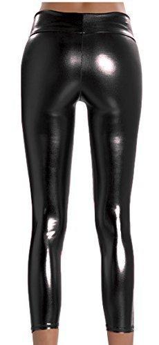 femmes-effet-mouille-roller-leggings-disco-brillant-taille-haute-jegging-femmes-vetement-club-noir-m