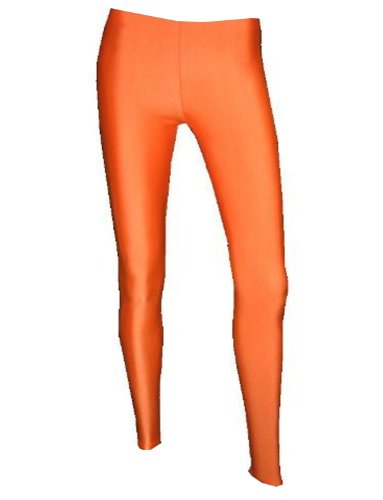 Neon UV Orange Leggings - Made in England - Choice of Sizes
