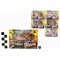 "FINGER SKATEBOARD WITH RAMP-THERE ARE 6 ASSORTED ""X STUNTZ"" WITH VARY (ONE SUPPLIED)"