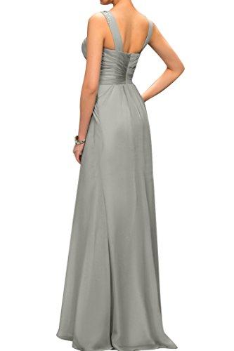 Sunvary una linea semplice senza maniche degli ospiti per matrimonio abito da sera sera dell'abito da sera Inchiostro blu