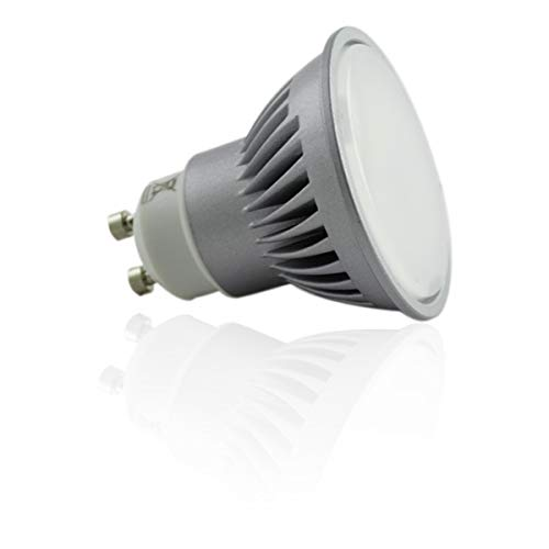 Spot LED GU10 7W grand angle éclairage 60W - Blanc Neutre (4100K)