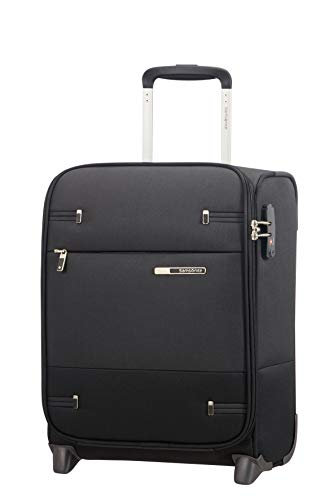 Samsonite Base Boost Upright S Underseater Koffer 115603/1041, 45 cm, Nero (Nero)