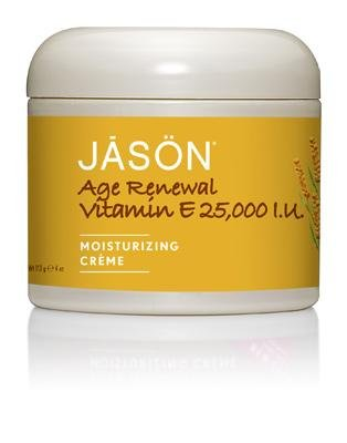 25000 Iu Vitamin (Jason 25,000I.U. Vitamin E Age Renewal Moisturizing Creme, 4-ounce schön (Pack Of 2) by Jason Natural Cosmetics Beauty (English Manual))