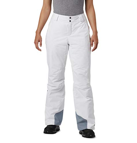 Columbia Hose für Damen, Bugaboo OH, Nylon, weiß, Gr. XS (Beige Ski Hose)