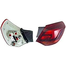 Right Driver Side Rear Lamp Tail Light (5-Door Hatchback Smoked Type no Bulbholder)