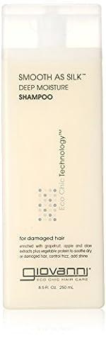 Giovanni Hair Care Products Shampoing pour des cheveux doux comme de la soie ,235 ml