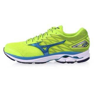 mizuno-wave-rider-20-scarpe-running-uomo-safetyyellow-atomicblue-bluedepths-44