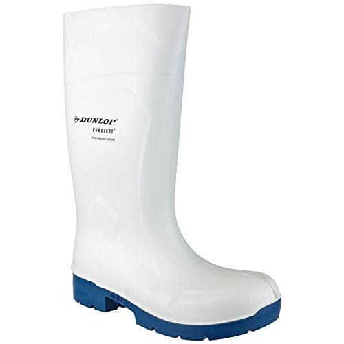 Dunlop Food Multigrip Safety Gummistiefel Weiß