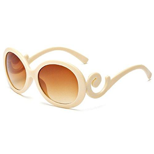 O-C Damen Sonnenbrille Beige Beige