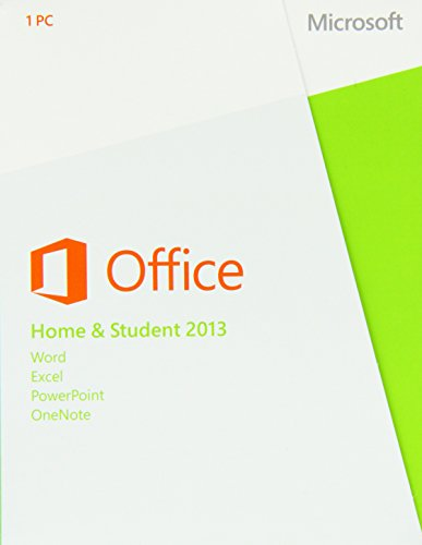 Microsoft Office Home and Student 2013 - Suites de programas (PC, Windows 7 Home Basic, Windows 7 Home Basic x64,...
