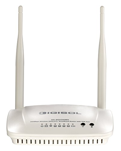 Digisol DG-BG4300NU Wireless ADSL 2/2+ Broadband Router with USB Port